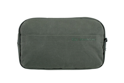 Lifeventure RFID Protected Wallet Olive Waxed Canvas